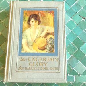 "Vintage romance novel ""The Uncertain Glory"" 1926"